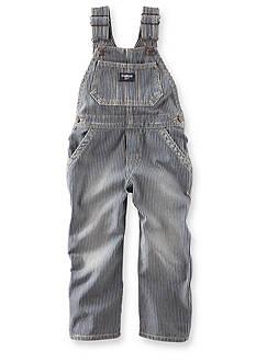 OshKosh B'gosh® Hickory Stripe Overalls