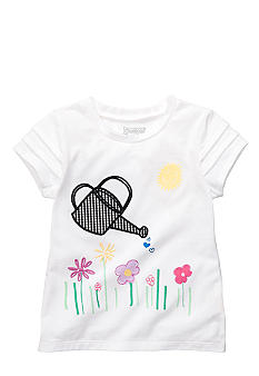 OshKosh B'gosh Water Pot and Flower Gingham Tee