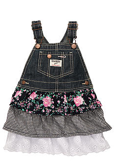 OshKosh B'gosh Denim Floral Jumper
