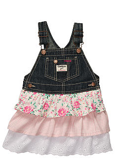 OshKosh B'gosh Ruffle Denim Jumper Dress