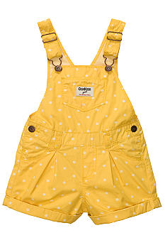 OshKosh B'gosh Polka Dot Overall Shorts