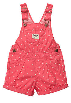 OshKosh B'gosh Polka Dot Overall Short