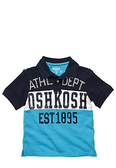 OshKosh B'gosh Athletic Color Blocked Polo Toddler Boys