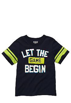 "OshKosh B'gosh ""Let The Game Begin"" Tee Toddler Boys"