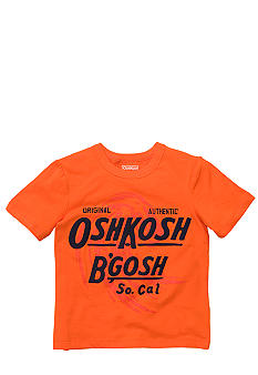 OshKosh B'gosh Orange Logo Tee Toddler Boys