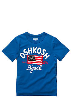 OshKosh B'gosh Logo Flag Tee Toddler Boys