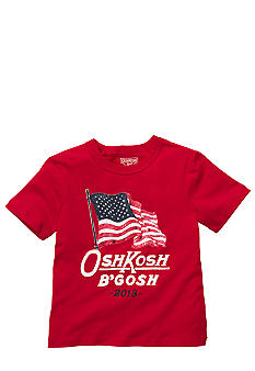 OshKosh B'gosh Logo Flat Tee Toddler Boys