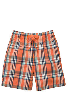 OshKosh B'gosh Tie Plaid Short Toddler Boys