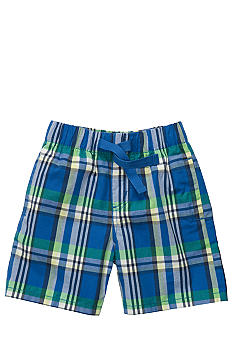 OshKosh B'gosh Tie Plaid Short Toddler Boy