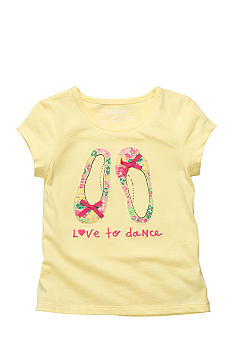 OshKosh B'gosh Dancing Shoes Tee Toddler Girls
