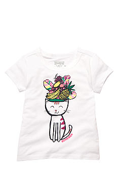 OshKosh B'gosh Tropical Cat Tee Toddler Girls