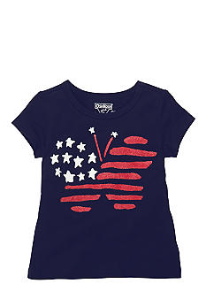 OshKosh B'gosh Butterfly Flay Tee Toddler Girls