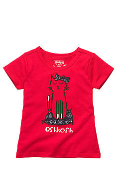 OshKosh B'gosh Kitty Tee Toddler Girls