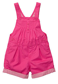 OshKosh B'gosh® Gingham Lined Shortall Toddler Girls