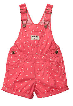 OshKosh B'gosh Polka Dot Shortalls Toddler Girls