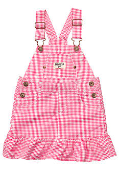 OshKosh B'gosh Gingham Jumper Toddler Girls