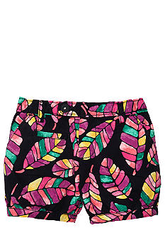 OshKosh B'gosh Feather Print Shorts Toddler Girls