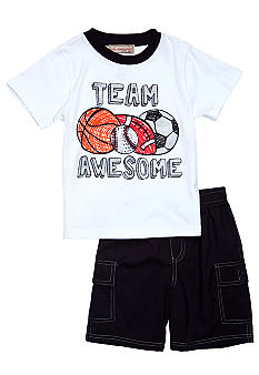 Kidsline 2-Piece Team Short Set
