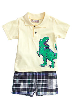 Kids Headquarters Polo Short Set