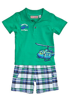 Kids Headquarters Copter Patrol 2-Piece Short Set