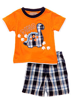 Kids Headquarters Dino 2-Piece Short Set