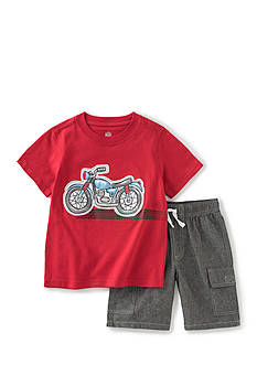 Kids Headquarters Motorcycle Shorts Set