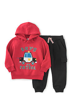 Kids Headquarters 2-Piece Patrol Car Hoodie and Jogger Pants Set