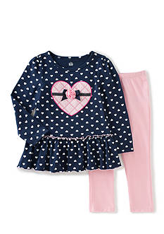 Kids Headquarters 2 Piece Tunic and Legging Set