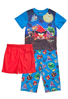 Angry Birds Space 3-piece Pajama Set Toddler Boy