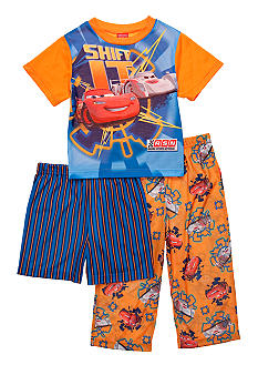 Disney Cars 3-piece Pajama Set Toddler Boy