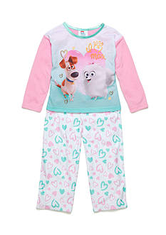 AME 2-Piece Secret Life of Pets Pajama Set Toddler Girls