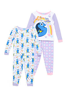 Disney Pixar 4-Piece Finding Dory™ Pajama Set Toddler Girls