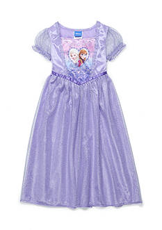 Disney Frozen Sisters Fantasy Night Gown Toddler Girls