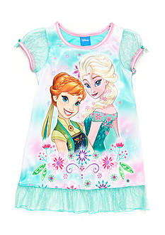 Disney Elsa Printed Nightgown Toddler Girls
