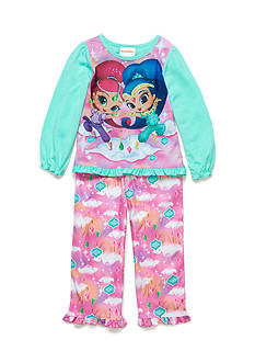 Nickelodeon™ 2-Piece Shimmer and Shine Pajama Set Toddler Girls
