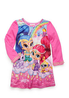 Nickelodeon Shimmer Shine Nightgown Toddler Girls