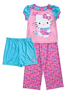 Hello Kitty by Sanrio 3-piece Pajama Set Toddler Girls