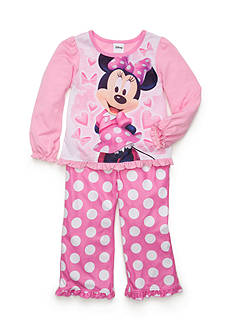 Disney 2-Piece Minnie Mouse® Pajama Set Toddler Girls