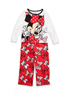 Disney Minnie Mouse Pajama Set Toddler Girls