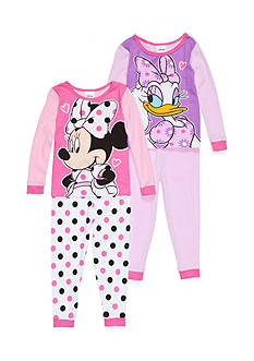 4-Piece Disney® Pajama Set Toddler Girls