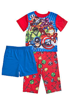 Marvel Avengers Heroes 3-piece Pajama Set Toddler Boy