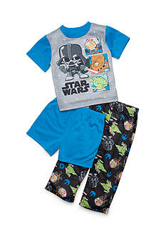 Star Wars 3-Piece Character Pajama Set Toddler Boys