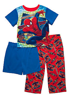 Marvel Spiderman 3-piece Pajama Set Toddler Boy