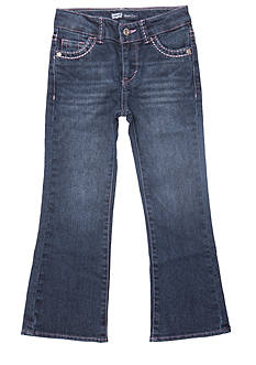 Levi's Boot Cut Denim Blue Jeans For Toddler Girls