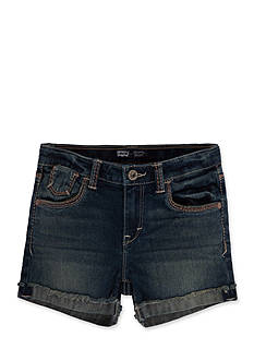 Levi's Mission Thick Stitch Shorty Shorts Toddler Girls