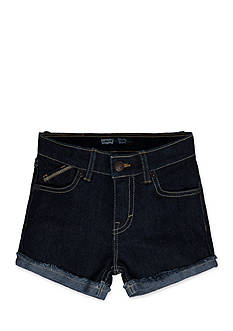 Levi's Scarlett Glitter Print Shorty Shorts Toddler Girls