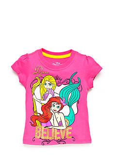 Disney Princess Character 'Dare To Believe' Top Toddler Girls
