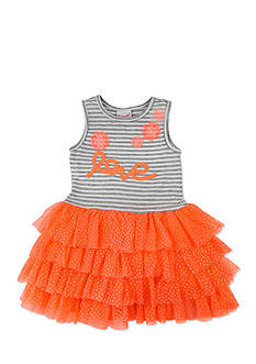 Nannette Love Mesh Dress Toddler Girls