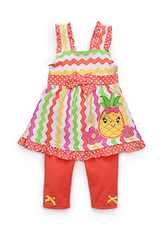 Nannette Pineapple Capri Set