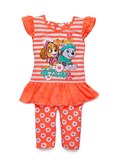 Nickelodeon™ 2-Piece Paw Patrol Striped Tunic and Daisy Legging Set Toddler Girls